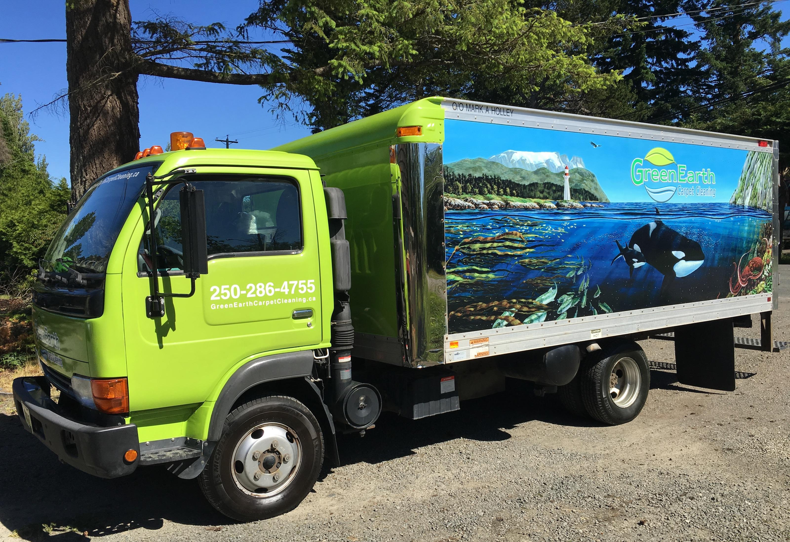 Campbell River Green Earth Carpet Cleaning